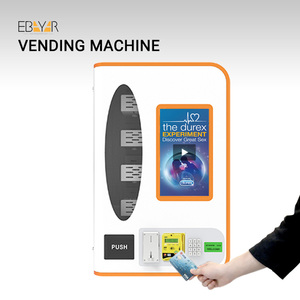 Soda Vending Machine Beverage Snacks Wine Automatic Selling Machine Coin Operated