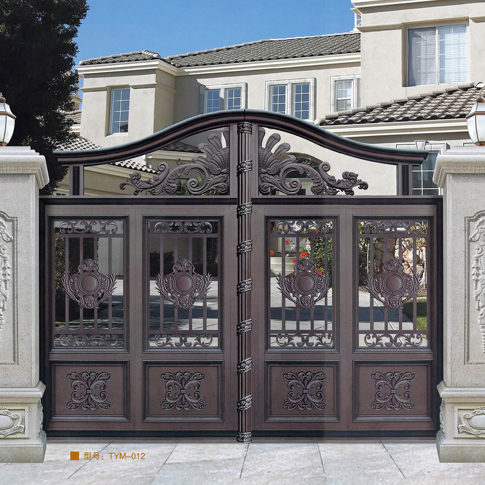 Simple house gate design the image kid for Home gate architecture