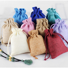 China Products Custom gift Jewelry Pouch Cotton drawstring Bag