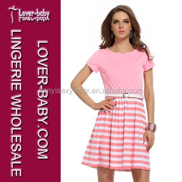 Venta al por mayor vestidos cortos color rosa-Compre online los ...
