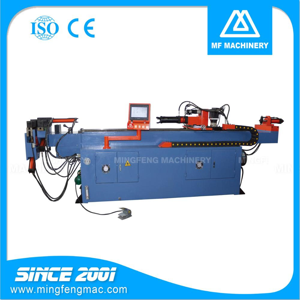 DM-63CNC metal stainless steel 5 inch exhaust pipe tube bender machine cnc
