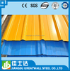 corrugated metal sheets /gi sheet price / color coated galvanized sheet metal roofing price