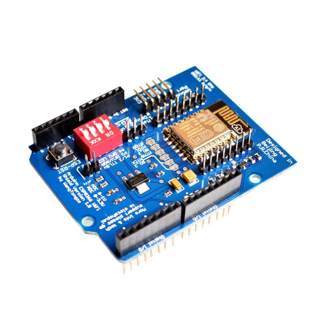 WeMos D1 -- UNO like wifi board based ESP-8266