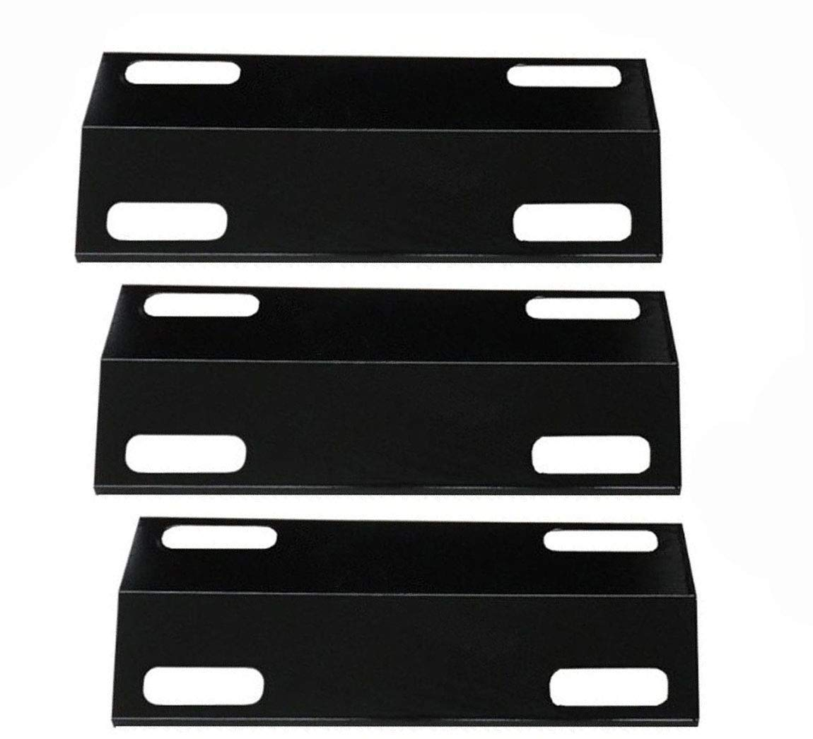 bbq factory Replacement Porcelain Steel BBQ Gas Grill Heat Plate / Heat Shield Part Ducane:30501013 (3-pack) Select Gas Grill Models By Ducane Gas Grill and Other