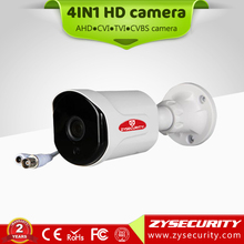 Cheapest 2017 new CCTV camera bullet model,36pcs led 2.8mm fixed lens 720p 4in1camera
