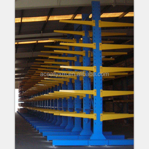 Construction material storage racking system