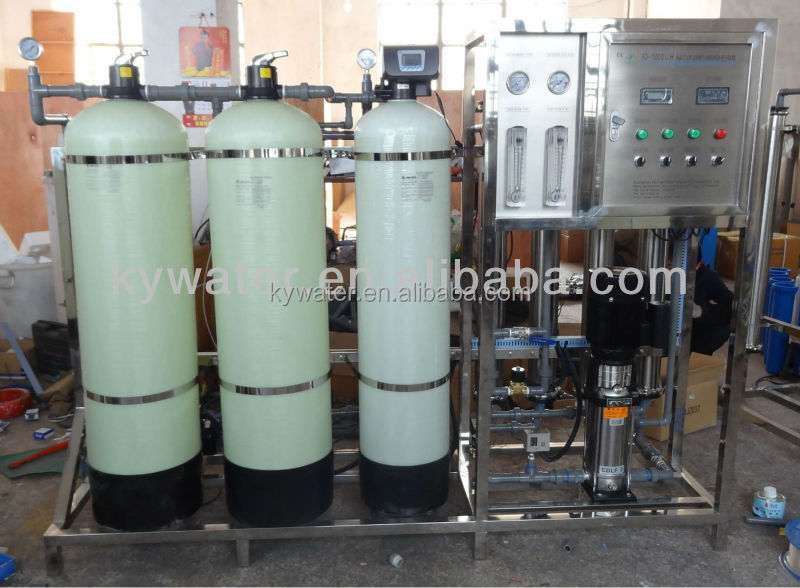 2014 CE Approved 1000LPH ro water filtration/reverse osmosis water production plant