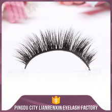 Lianrenxin Colored Silk Eyelash Extensions Best Artificial Fiber Top False Lashes