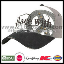 Embroidered men hot sale fitted baseball cap