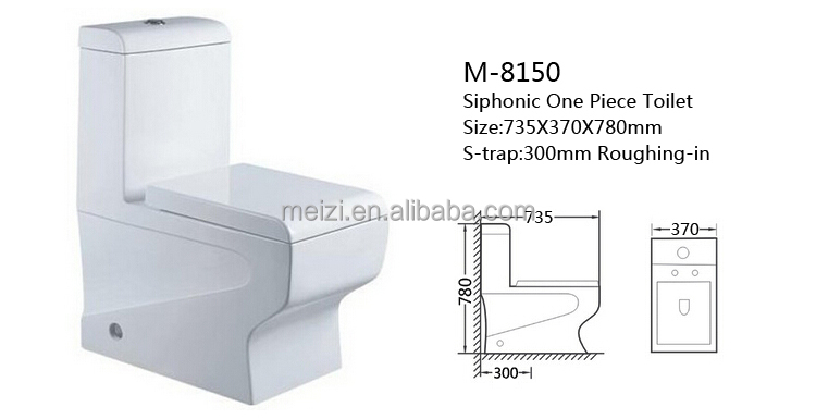 Siphonic ceramic ce japanese wc color toilet