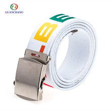 Colorful western elastic stretch braided belt/waistband for men