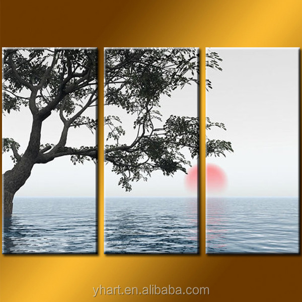 Hot Sell Newest Art Painting Printing Seascape Picture