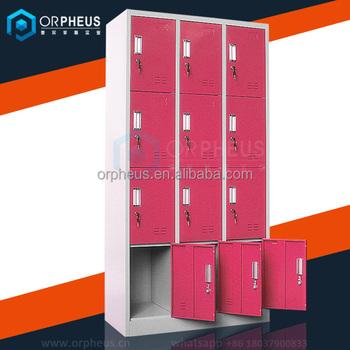 School Equipment Student Used Storage Cupboards Steel Sideboard Cabinet  With Lock