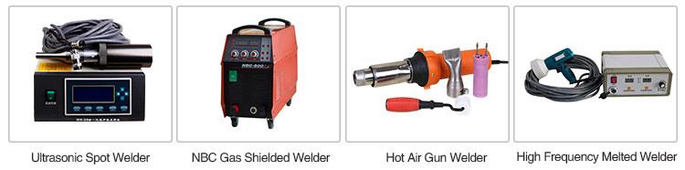 Na-sales Service automatische geomembrane pvc stof hdpe liner lasmachine