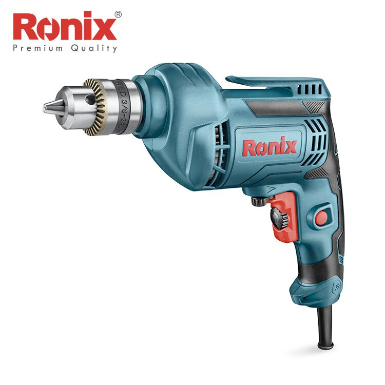 Ronix Hot Selling 10mm 220V Small Portable Electric <strong>Drill</strong> 450W Model 2112