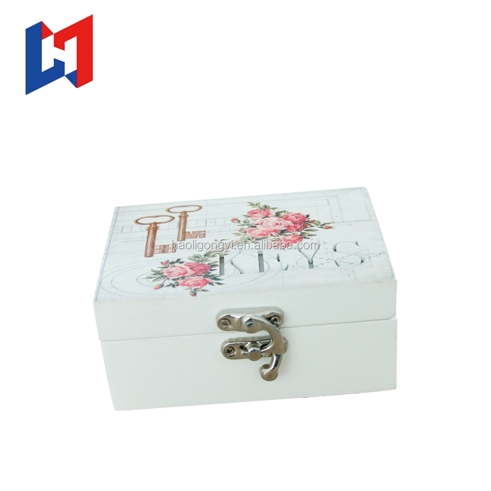 Luxury high grade gift decoration wedding wooden jewelry display box