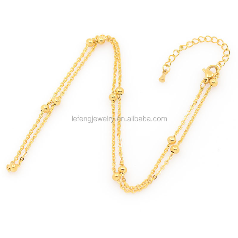 Different Types Of Necklace Chains Jewelry,Artificial Gold Long ...