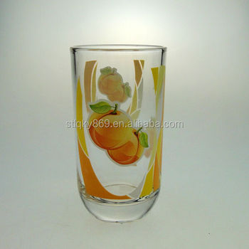 Drinking Water Glass Fruit Water Glass Cups Cheap Price