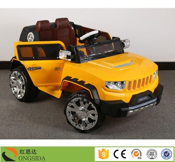 factory price 12v suv kids electric ride on toy cars baby plastic vehicle