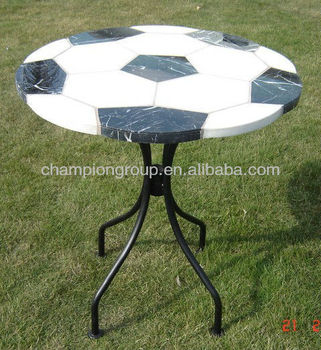 Outdoor Tile Top Table Mosanic And Iron Coffee Tables