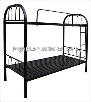 double layer iron bed metal bunk bed for school military factory staff army bed use - Bunk Beds Metal Frame