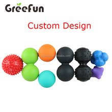 Triggers Points Spiky Massage Ball , Self Massage Tool , Myofascial Release Tools For Physical Therapy , Yoga , Acupressure