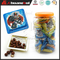 Mylikes Chocolate Candy Ball in Cartoon Robot Cup