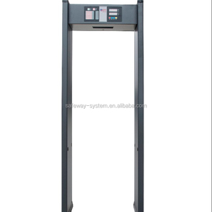 6zones door frame archway walk through metal detector price