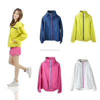 Light weight best outdoor rain jacket womens rain jacket with hood