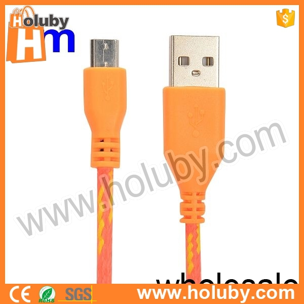Free sample! High quality Data transfer & Charging Micro usb data cable wire for mobile Phone SamSung