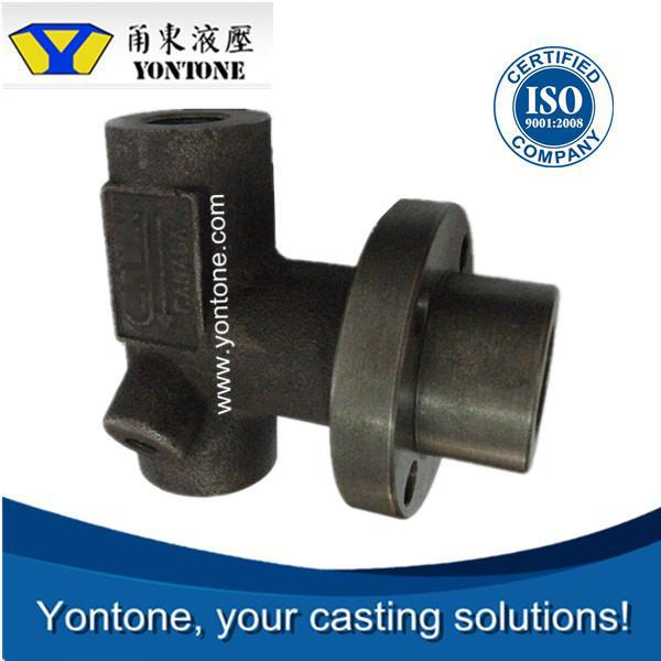 Yontone Factory Business Mogel T6 C10 C15 C20 sand castting plastic lined steel pipe fitting