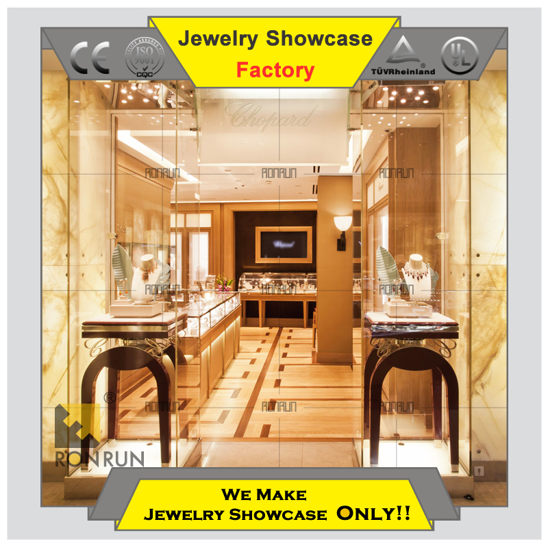 Top Rated Wood Jewelry Shop Jewellery Store Center Table