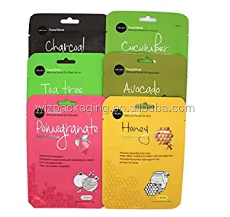 plastic bag/packaging/pouch for Hydrating Sheet Mask of suppliers