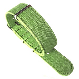 Cotton Fabric Bulk Cheap Integrated Canvas Watch Strap