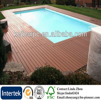 High Quality Wpc Decking Flooring Waterproof Outdoor Deck Floor Covering Solid Wood Plastic Composite