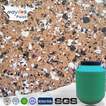 Maydos Peinture Acrylique Peinture En Pierre Effet Granit Peinture Murale Extérieure Buy Granit D Effet De Peinture De Pierre Acrylique Peinture