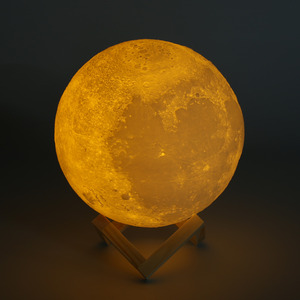 8-20cm Diameter 3D Print Moon Lamp USB LED Night Light Moonlight Gift Touch Sensor 2/3 Color Changing Night Lampedroo Bm Decor