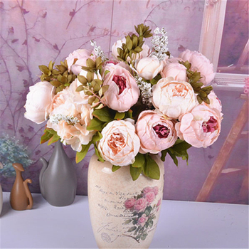 Alibaba.com & Beautiful Colorful Artificial Big Peony Flower Arrangement Stands With Vase For Weddings - Buy Flower Arrangement With VaseFlower Arrangement Stands ...
