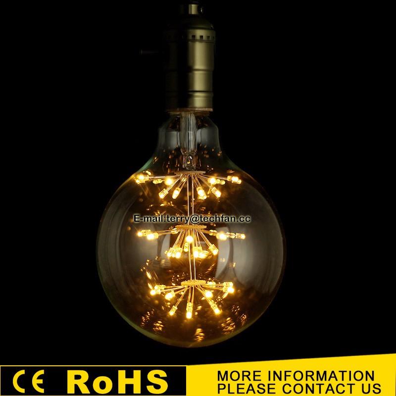 Wholesale New design G125 star edison table lamp 110-130V 220-240V ...