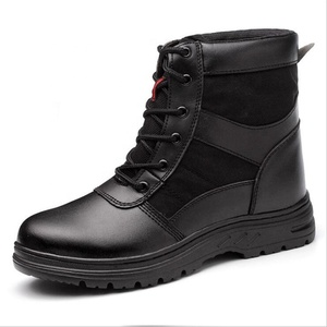 Winter steel toe anti-smashing anti-piercing high work boot.