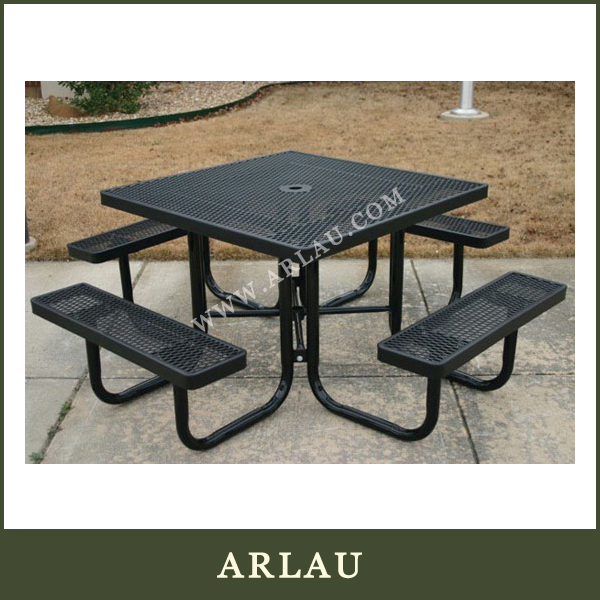 (TB124) Arlau Metal Black Outdoor Tables And Chairs,Outdoor Furniture Metal,Round Iron Table Base