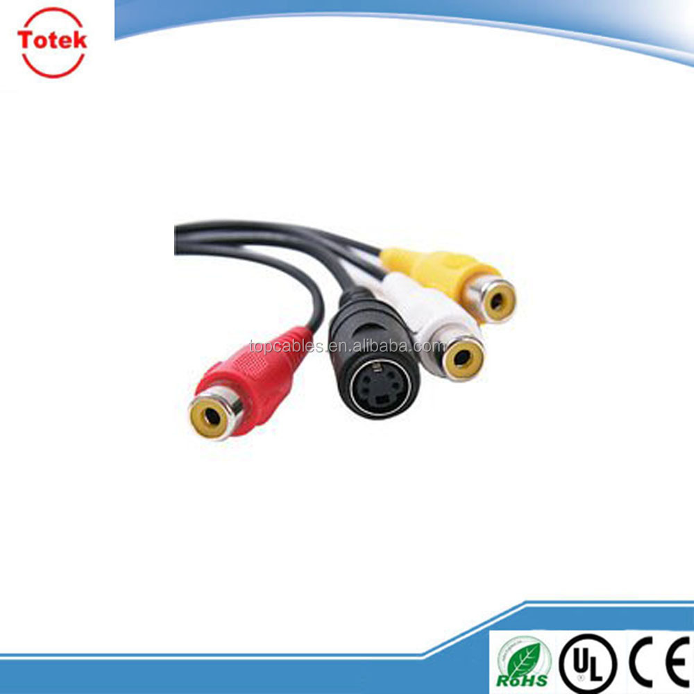 VGA Cable From CAT5. Logitech X530 Front Right Connector Pinout ...