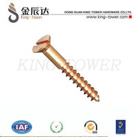 M3 silicon bronze wooden screw (with ISO card)