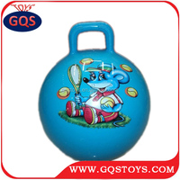 18 inch handle jumping ball for kids