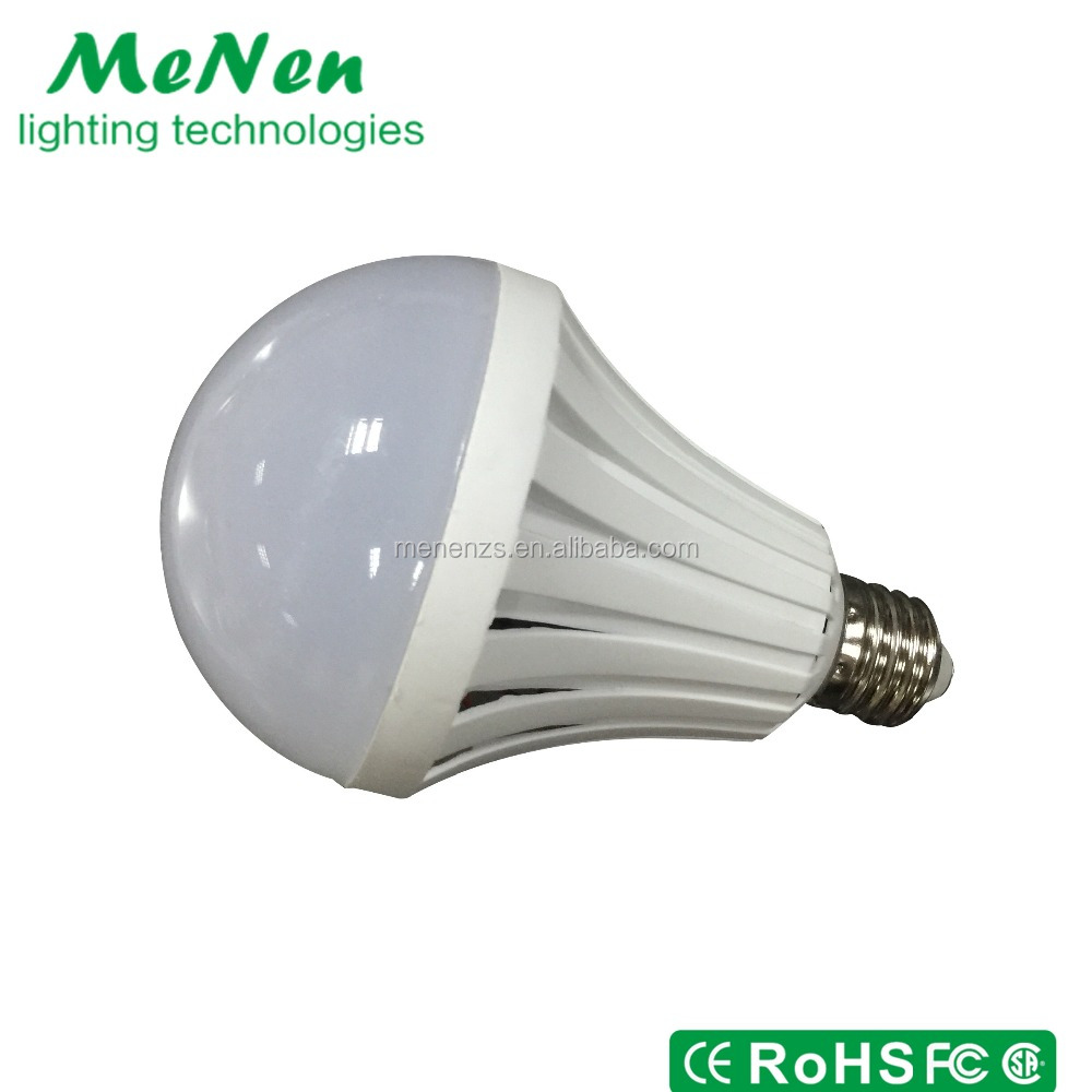 LED Rechargeable Led Light 9W Global Bulb E27 B22 with Rechargeable Battery Backup
