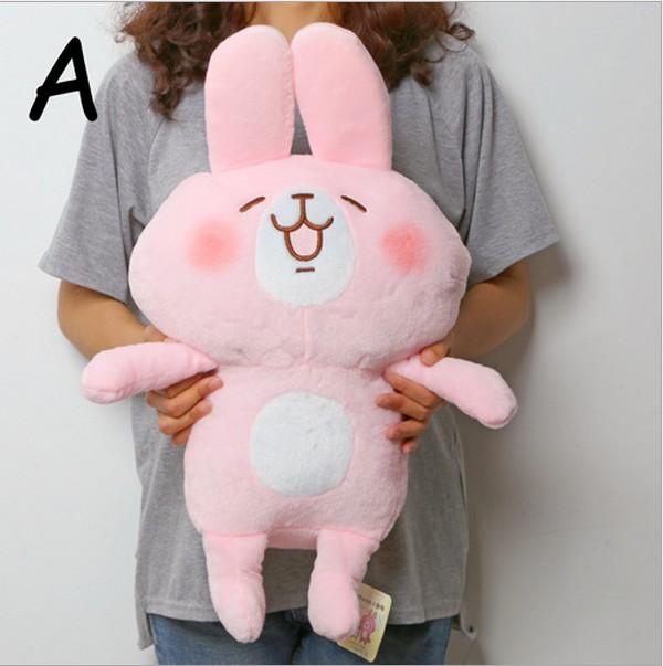 1pcs Japan Kanahei pink rabbit Plush doll plush toys gifts 4styles big height 35cm 20160321