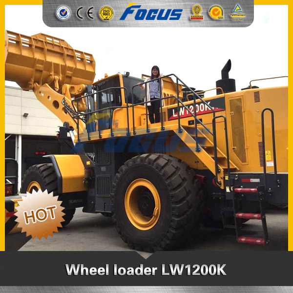 6.5M3 Bucket LW1200K Giant Shovel Loader