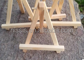 Wooden foldable easel stand ,Mini Wooden Painting Easel Tripod Artist for Sketch Drawing Stand