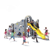 Fashion Plastic Climbing Holds Kids Rock Climbing Wall Outdoor