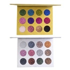 12 Color Eyeshadow Palette Glitter Sequins Eye Shadow Powder Professional Or Personal Makeup